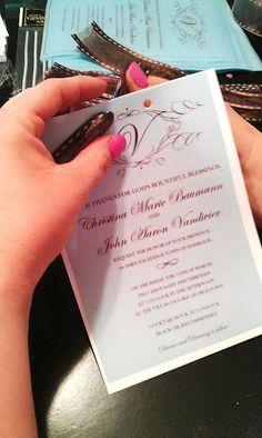 How To Make Your Own Wedding Invitations for under $50 – BridalTweet Wedding Forum & Vendor Directory