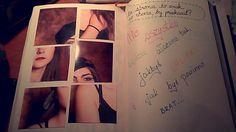 Podesłała Justyna Fehring-Dworak #zniszcztendziennikwszedzie #zniszcztendziennik #kerismith #wreckthisjournal #book #ksiazka #KreatywnaDestrukcja #DIY