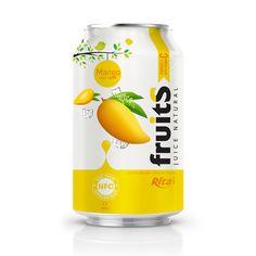 aluminum can nfc good taste mango juice drink Juice Packaging, Beverage Packaging, Juice Drinks, Fruit Drinks, Food Packaging Design, Packaging Design Inspiration, Bottle Design, Label Design, Mango