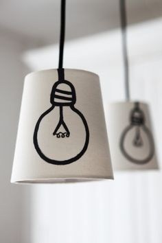 mommo design: DIY LAMPS