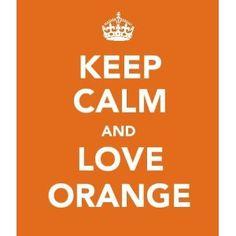 love orange, I like aqua