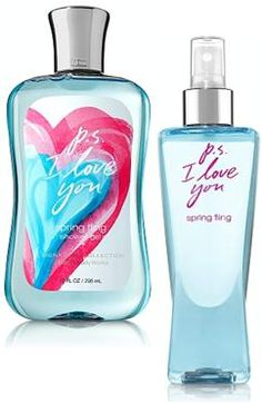 bath and body works perfume - P.S. I Love You