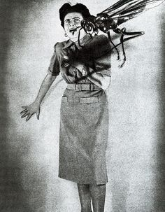 Grete Stern. Sueños (Dreams). 1948-1952. M: Or, (Today, Standing in the Backyard)!
