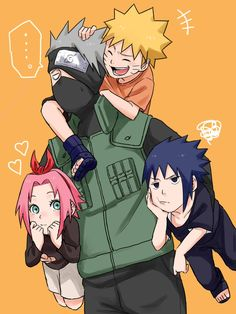 """""""Now I had to deal with this""""..-Kaka #Team 7 #Naruto and Friends"""