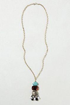Treasure Stack Pendant Necklace | Anthropologie.eu
