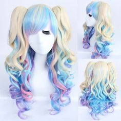 SHARE & Get it FREE | Faddish Long Wavy Side Bang with Bunches Mixed Color Lolita Synthetic WigFor Fashion Lovers only:80,000+ Items·FREE SHIPPING Join Dresslily: Get YOUR $50 NOW!