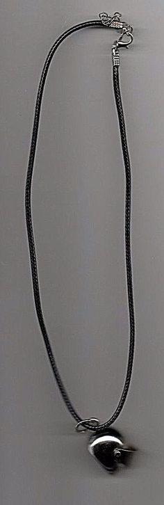 Unisex Black Leather Necklace with Crash Helmet Pendant Skull Pendant, Pendant Necklace, Viking Raven, Leather Necklace, Quad, Helmet, Black Leather, Unisex, Jewelry