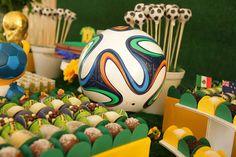 Festa Copa do Mundo/ Aniversário Criança/ Word cup Party/ Boys Birthday