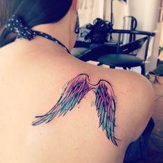 Alab #adrianbascur #tattoo #pluma #alas #tatuaje #wings