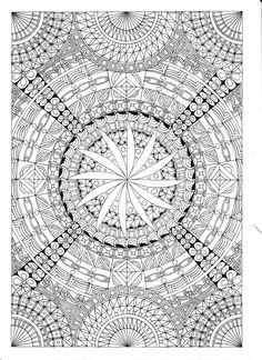 African Designs Coloring Book See More Intricate Zendala Colouring Page By Artworkbyfaithswann On Etsy