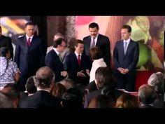 Peña Nieto ignora a Luis Videgaray en acto público