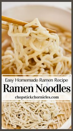Easy homemade ramen noodles recipe without using a noodle-making machine. You can make delicious noodles at home with just 4 ingredients. #japaneseramen #noodlerecipes #recipes #noodlerecipeseasy #noodlerecipessoup  #noodles #recipeseasy #ramennoodlerecipes Ramen Noodle Recipes Homemade, Ramen Recipes, Asian Recipes, Cooking Recipes, Ethnic Recipes, Japanese Street Food, Japanese Food, Ramen Restaurant, Best Side Dishes