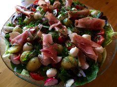 Sommersalat I Foods, Potato Salad, Potatoes, Ethnic Recipes, Potato