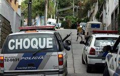 PMERJ Polícia Militar Estado do Rio de Janeiro (BPChq) - Na luta diária contra o crime.