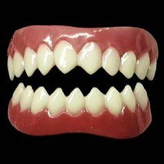 Grell costume teeth!