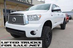 2012 Toyota Tundra LTD Crew Max Lifted Truck $32,988