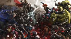 Avengers Age Of Ultron Concept Wallpapers For Desktop
