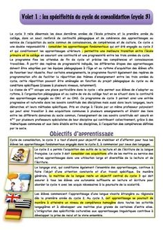 Nouveaux Programmes Cycle 3, French Classroom, New Program, Classroom Management, Special Education, Programming, Teaching, School, Ideas
