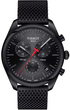 Tissot Watch PR100 Mens #add-content #basel-17 #bracelet-strap-steel-black-pvd #brand-tissot #case-depth-10-7mm #case-material-steel-black-pvd #case-width-41mm #chronograph-yes #date-yes #delivery-timescale-call-us #dial-colour-black #gender-mens #luxury #movement-quartz-battery #new-product-yes #official-stockist-for-tissot-watches #packaging-tissot-watch-packaging #subcat-pr100-prc100 #supplier-model-no-t1014173305100 #warranty-tissot-official-2-year-guarantee #water-resistant-100m