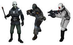HalfLife Combine Soldiers/Officer