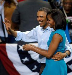 The Obamas...