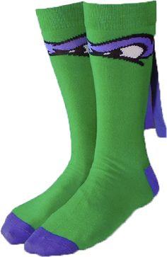 Teenage Mutant Ninja Turtles Donatello Crew Sock