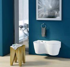 BZCasa Magazine - http://mag.bzcasa.it/abitare/arredamento/arredare-un-bagno-piccolo-10-cose-da-sapere-per-farlo-al-meglio-3039/ small di Ideal Standard bagno di servizio poco spazio