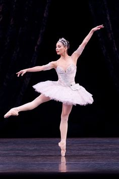 "Tamara Rojo in ""Theme and Variations"" (Royal Ballet)"