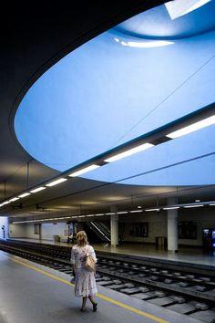 Estação do Metrô Casa da Música / Eduardo Souto de Moura