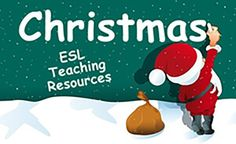 Christmas ESL EFL Worksheets, Activities and Games