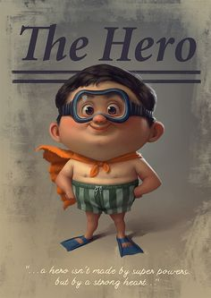 ArtStation - The Hero, Tiago Hoisel Character Concept, Character Art, Concept Art, Cute Illustration, Character Illustration, Cute Characters, Cartoon Characters, Mode 3d, Animation