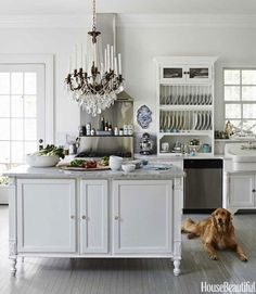 It All Appeals to Me: White Kitchens