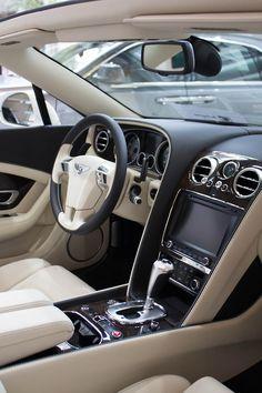 Billionaires Road Tumblr Image of a Bentley Interior.
