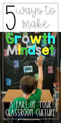 Have you tried making Growth Mindset part of your classroom? Here are five Growth Mindset lessons and activities that I used in my first and second grade classrooms.