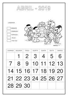 Calendário 2019 - Turma da Mônica Writing Paper, Math, School, Top, List Of Activities, Letter E Activities, Abc Centers, Language Activities, Cursive