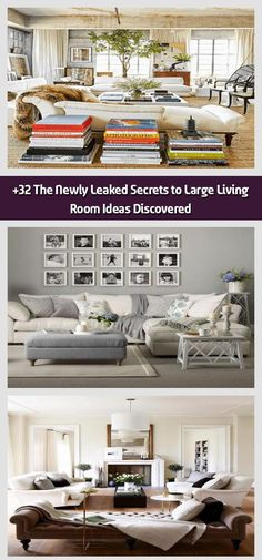 The Newly Leaked Secrets to Large Living Room Ideas Discovered – Large Li… – Round Carpet Room