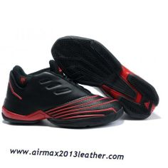 the best attitude 68f3a d117a Adidas T-Mac 2 Tracy McGrady Shoes Black Red 2013