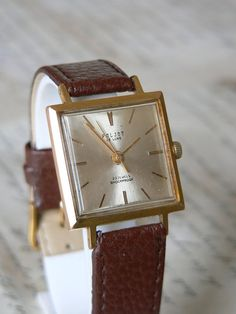 Soviet watch Russian watch RARE poljot de luxe 2209 23 jewels ussr watch cccp ultra slim Gold Plated