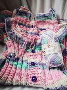 Rochita cu cardigan/hanorac - degrade Cardigan, Sweaters, Fashion, Tejidos, Moda, Sweater, Fasion, Pullover