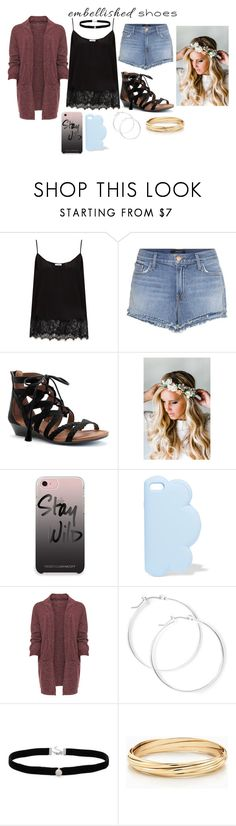 """""""Embellishes Shoes"""" by lifestyle1duckling ❤ liked on Polyvore featuring Equipment, J Brand, SONOMA Goods for Life, Emily Rose Flower Crowns, Rebecca Minkoff, STELLA McCARTNEY, WearAll, claire's, Amanda Rose Collection and contest"""