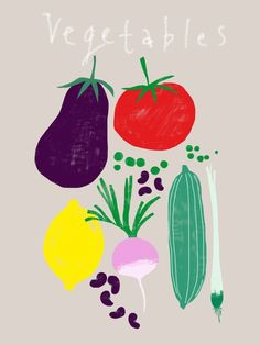 Laure Girardin - Vegetables