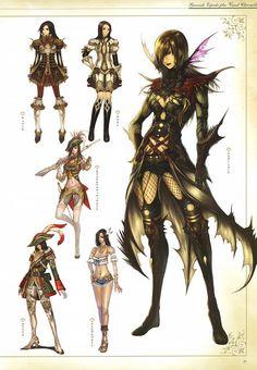 IMC Games, Granado Espada, Musketeer (Granado Espada), Character Sheet