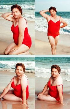 Zach Galifianakis for Vanity Fair - Yes I know this is disturbing and awesome at the same time.