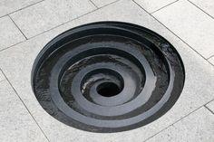 Matthew Maddocks - sunken spiral water feature