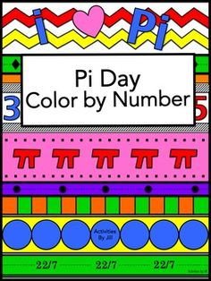 Add some flair to your lesson on Pi Day or make any day a pi day with this eye-catching color by number activity!   The mixed geometry formulas all require students to calculate using pi. This makes a great review or it can be used just to have your students practice using pi in various formulas.