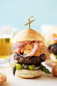 Surf 'n' Turf Sliders + Cookbook Announcement! - The Candid Appetite