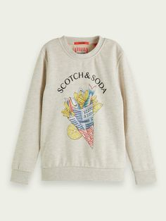 Set Up Google Analytics, Fish And Chips, Scotch Soda, Cotton Sweater, Cool Artwork, Hoodies, Sweatshirts, Simple Style, Toddler Boys