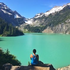Blanca Lake, Snohomish County, Washington - In the Alpine Lakes...