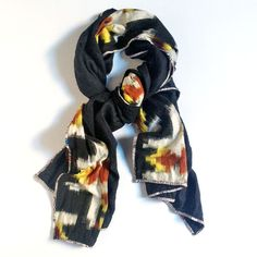 PATCH NYC - SCARVES - PATCH NYC OATMEAL WITH OLIVE DOUBLE {F208}