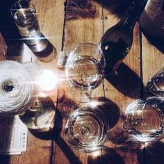 All that glitters is gold! Thanks @vixypix for snapping this sparkling photo at the Brooklyn Winery wine bar in Williamsburg
